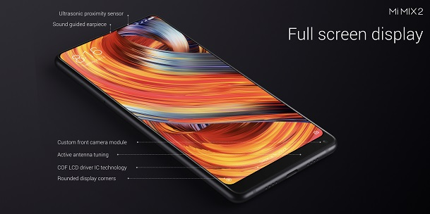 Mi Mix 2 - Full screen display