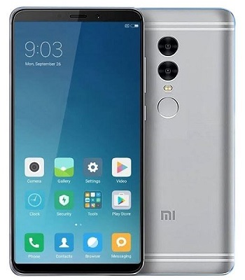 Xiaomi Redmi Note 5 - Front and Rear