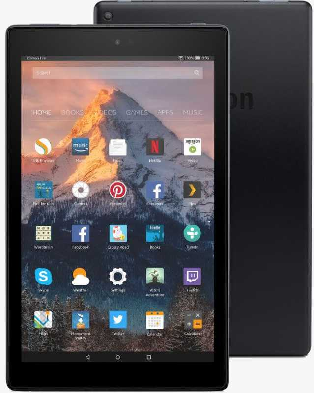 Best price on Amazon Fire HD 10 64GB 2017 in India
