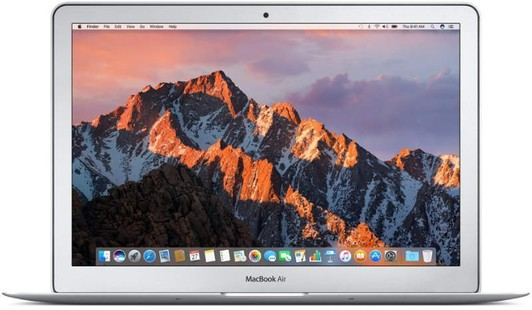 Best price on Apple MacBook Air MQD32HN/A 13.3 Inch (Core i5 5th Gen/8GB/128GB/MacOS) 2017 Laptop in India