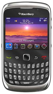 Best price on Blackberry Curve 3G 9300 in India