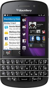Best price on Blackberry Q10 in India