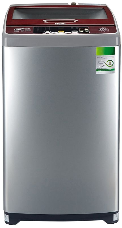 Best price on Haier HWM65-707NZP 6.5 kg Fully-Automatic Top Loading Washing Machine in India