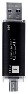 Best price on iball Hybrid Dual 8GB Pendrive in India