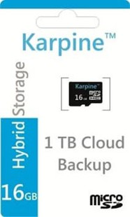 Best price on Karpine 16GB MicroSDHC Class 10 (18MB/s) Memory Card in India