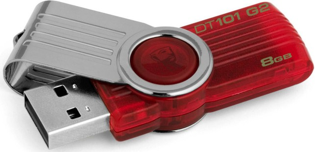 Best price on Kingston DataTraveler 101 G2 8GB Pen Drive in India