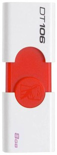 Kingston DT106 8GB USB 2.0 Pen Drive
