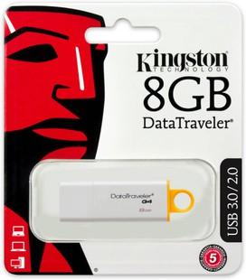 Best price on Kingston DataTraveler G4 8 GB USB 3.0 Pen Drive in India
