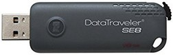 Best price on Kingston DataTraveler SE8 16GB Pen Drive - Front in India