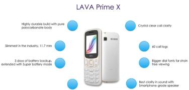Lava Prime X - Top