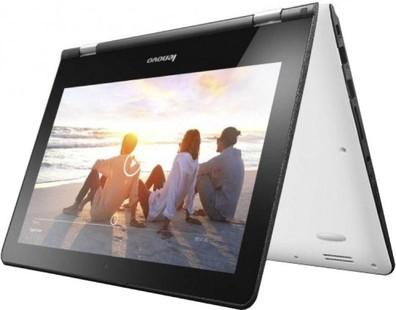 Best price on Lenovo Yoga 300 Laptop (Pentium Quad Core/4 GB/500 GB/Windows 8 1) in India