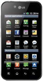 Best price on LG Optimus Black in India