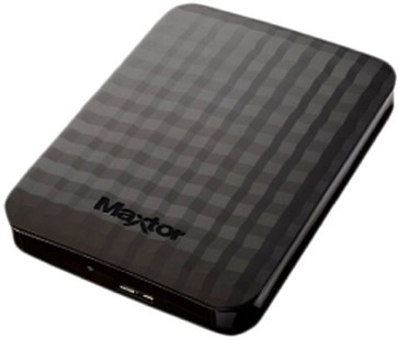 Best price on Maxtor M3 (HX-M101TCB/GM 7) 1TB USB 3.0 External Hard Disk in India