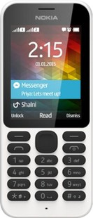 Best price on Microsoft Nokia 215 Dual Sim in India
