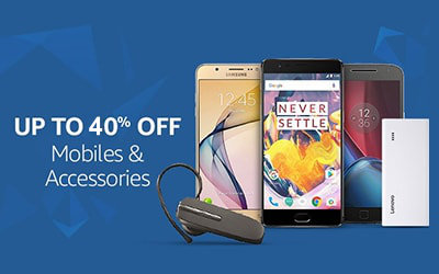 Mobiles & Accessories, Upto 40% off BestPriceOn