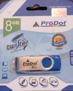 Best price on ProDot Twister USB 2.0 8 GB Pen Drive - Front in India