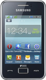Best price on Samsung Rex 80 S5222r in India