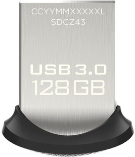 Best price on Sandisk Ultra Fit 128 GB USB 3.0 Pen Drive in India