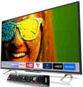 Best price on Sanyo 43 Inches XT-43S8100FS Full HD IPS Smart LED TV - Back in India