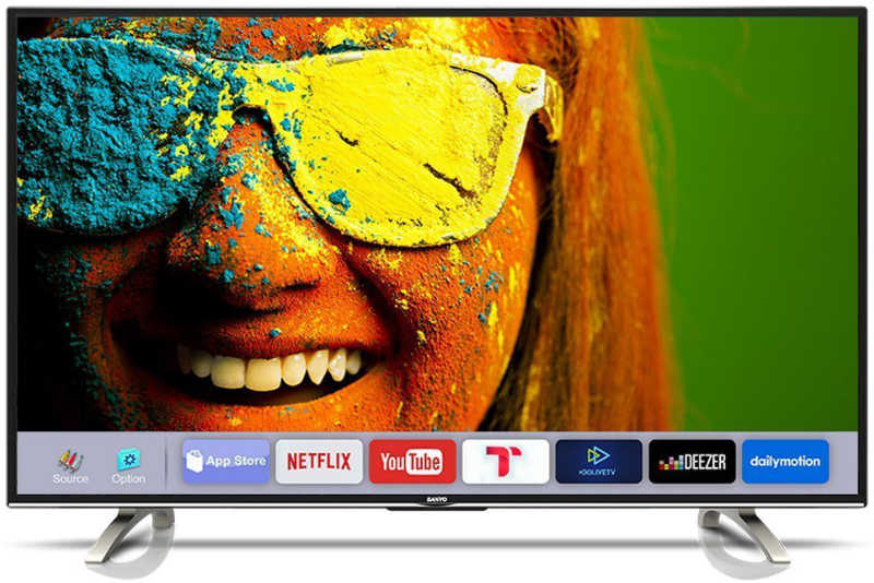 Best price on Sanyo 43 Inches XT-43S8100FS Full HD IPS Smart LED TV in India