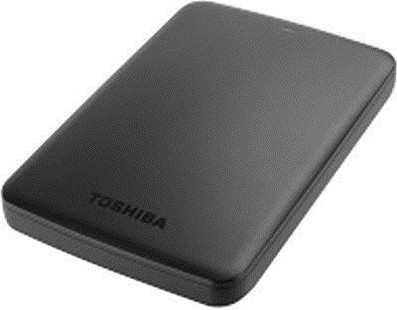 Best price on Toshiba Canvio Basics (HDTB310AK3AA) 1 TB External Hard Disk in India