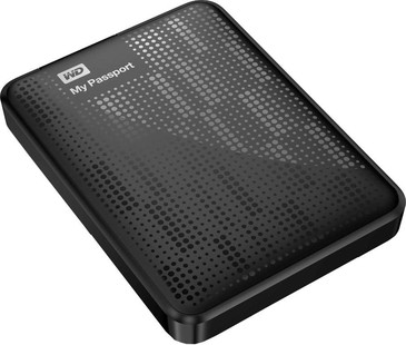 Best price on WD My Passport (WDBBEP0010BBL) 1 TB External Hard Disk in India