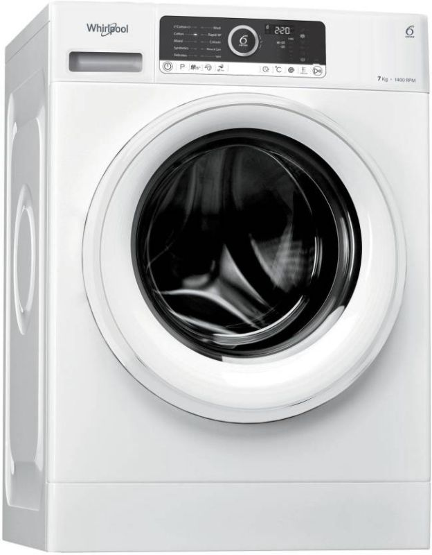 Best price on Whirlpool 7kg Fully Automatic Supreme Care 7014 Front Load Washing Machine in India
