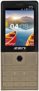 Best price on Zen M74 in India