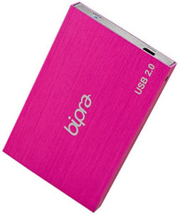 Best price on Bipra FAT32 USB 2.0 250 GB External Hard Disk in India