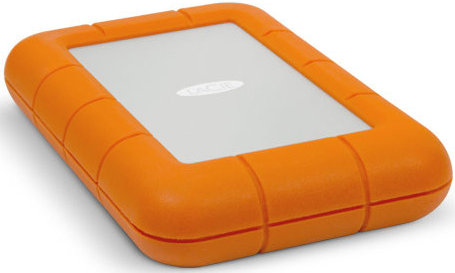 Best price on LaCie Rugged USB 3.0 Thunderbolt (9000294) 1TB External Hard Drive in India