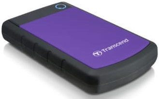 Best price on Transcend StoreJet 25H3 (TS3TSJ25H3P) 3TB USB3.0 Portable Hard Drive in India