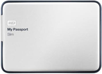 Best price on WD My Passport Slim 2TB Portable External Hard Drive (WDBPDZ0020BAL) in India