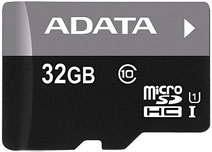 Best price on AData 32GB MicroSDHC Class 10 Memory Card in India