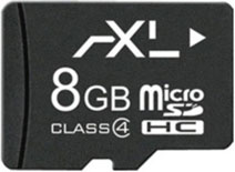 Best price on Axl 8GB MicroSD Class 4 (4MB/s) Memory Card in India