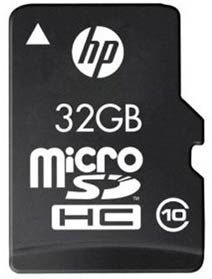Best price on HP 32GB MicroSDHC Class 10 (95MB/s) Memory Card in India