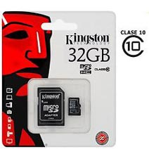 Best price on Kingston 32GB MicroSDHC Class 4 Memory Card (With Adapter) in India