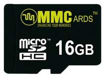 Best price on MMCards 16GB MicroSDHC Memory Card in India