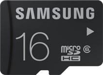 Samsung 16GB MicroSDHC Class 6 (24MB/s) Memory Card