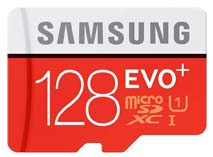Best price on Samsung EVO Plus 128GB MicroSDXC Class 10 (80MB/s) Memory Card in India