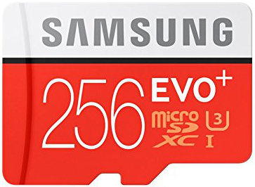 Best price on Samsung EVO Plus Micro SDXC Memory Card 256GB 95MB s in India