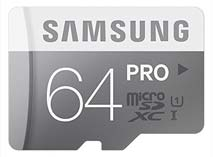 Best price on Samsung Pro 64GB MicroSDHC Class 10 (90MB/s) UHS-1 Memory Card (With Adapter) in India