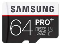Samsung PRO Plus MB-MD64D 64GB MicroSDXC Class 10 Memory Card (With Adapter)