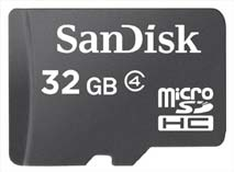 Best price on SanDisk Ultra 32GB MicroSDHC Class 4 (48MB/s) Memory Card in India