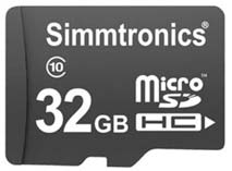 Best price on Simmtronics Ultra 32GB MicroSDHC Class 10 (70MB/s) Memory Card in India