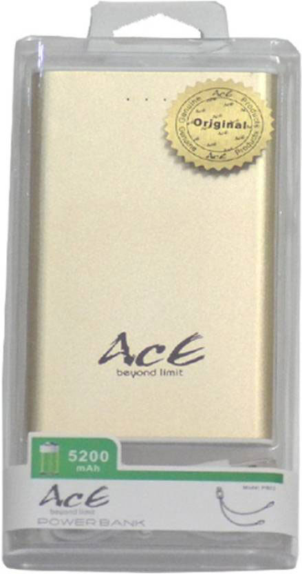 Best price on Ace PB-03 5200mAh Power Bank in India
