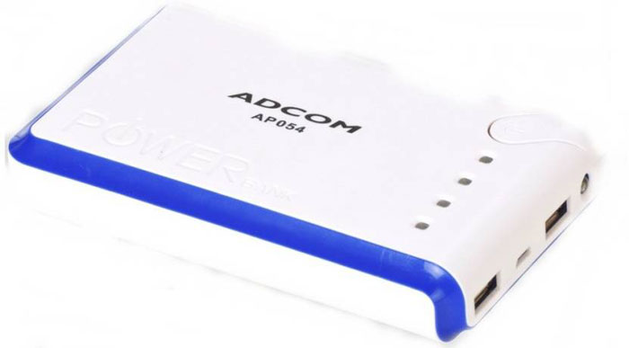 Best price on ADCOM AP054 9000mAh Power Bank in India