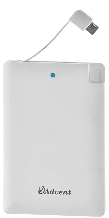 Best price on Advent X-5 Ultra Slim 2500mAh Power Bank in India