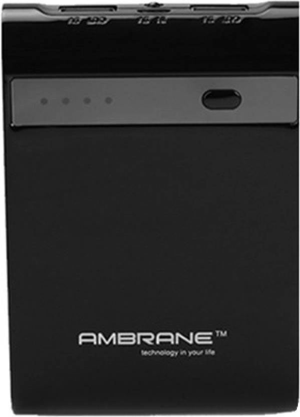 Best price on Ambrane P-1000 Star 10400mAh Power bank in India
