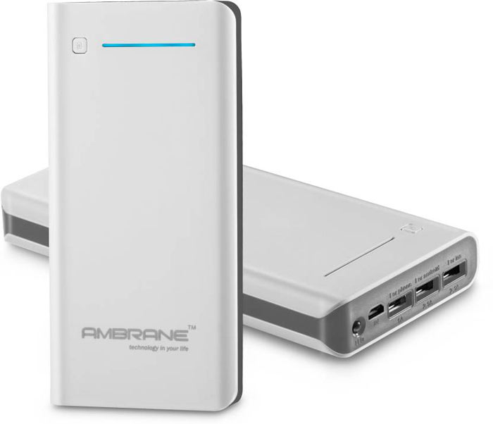 Best price on Ambrane P-2000 20800mAh Power Bank in India