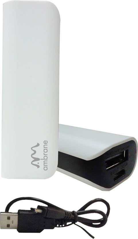 Best price on Ambrane P-201 2200mAh Power Bank in India